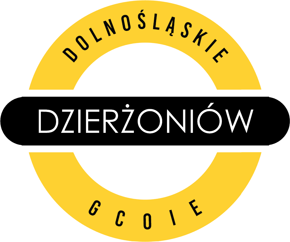The image shows the logo of the Commune Investor and Exporter Assistance Center in Dzierżoniów