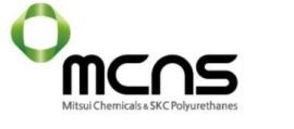 the picture shows logo  MCNS Polyurethanes Europe Sp. z o.o.
