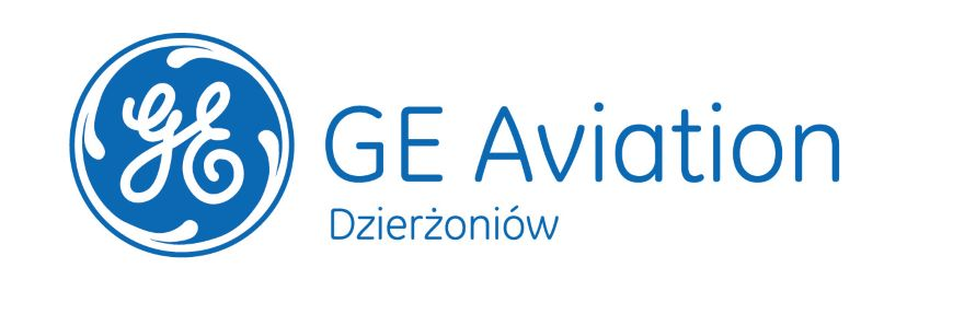 the picture shows logo GE Aviation Dzierżoniów